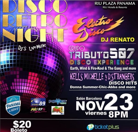 Photo of Disco Retro Night 2018 en Panamá