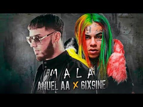 Photo of Anuel AA presento el vídeo de 'Mala' con 6ix9ine