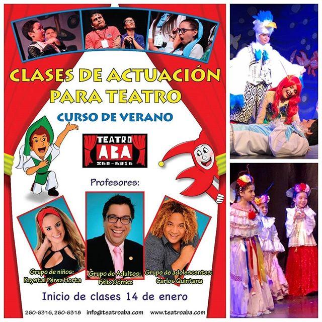 Photo of Curso de Verano 2019 en Teatro Aba