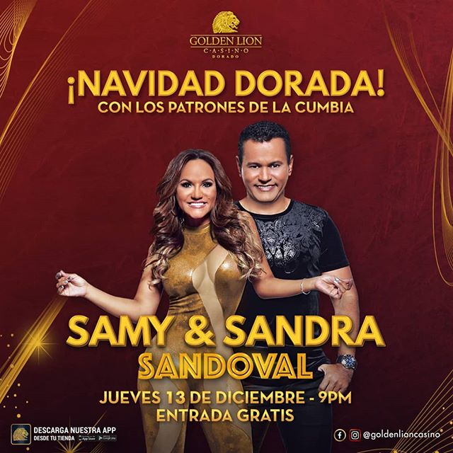 Photo of Samy y Sandra Sandoval en Golden Lion Casino