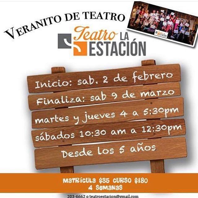 Photo of Veranito de Actuación en Teatro la Estación