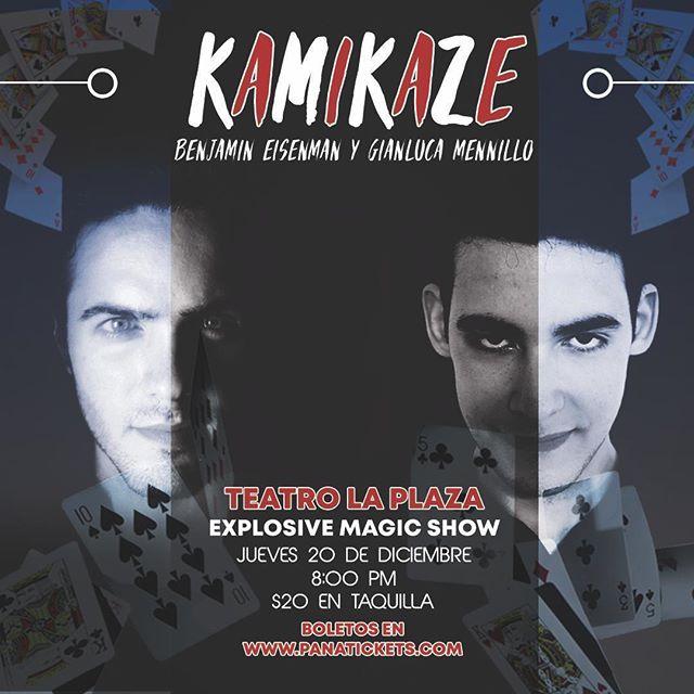 Photo of Magico Show con 'Kamikaze Explosive' en Panamá