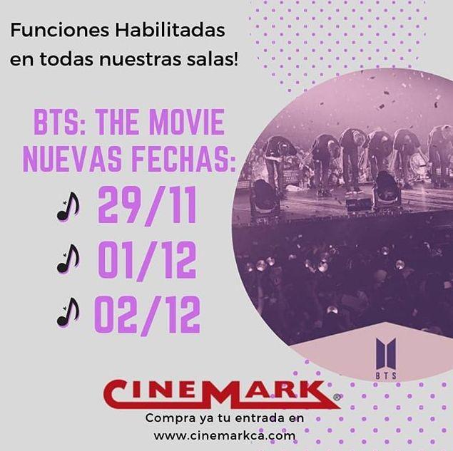 Photo of Cinemark presenta 'BTS Movie'