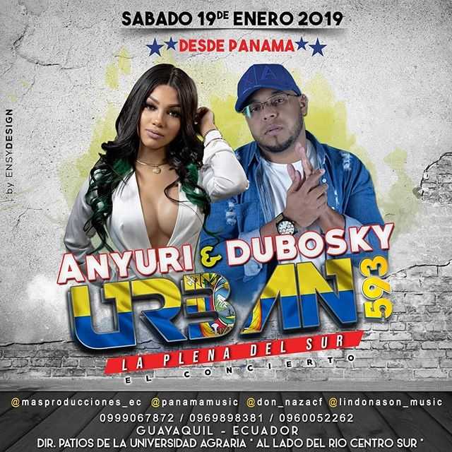 Photo of Anyuri y Dubosky en concierto en Ecuador