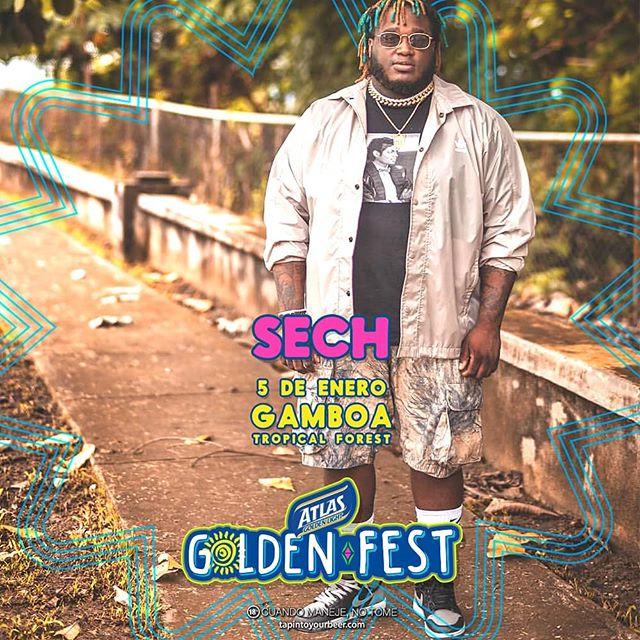 Photo of Sech en el Atlas Golden Fest 2019