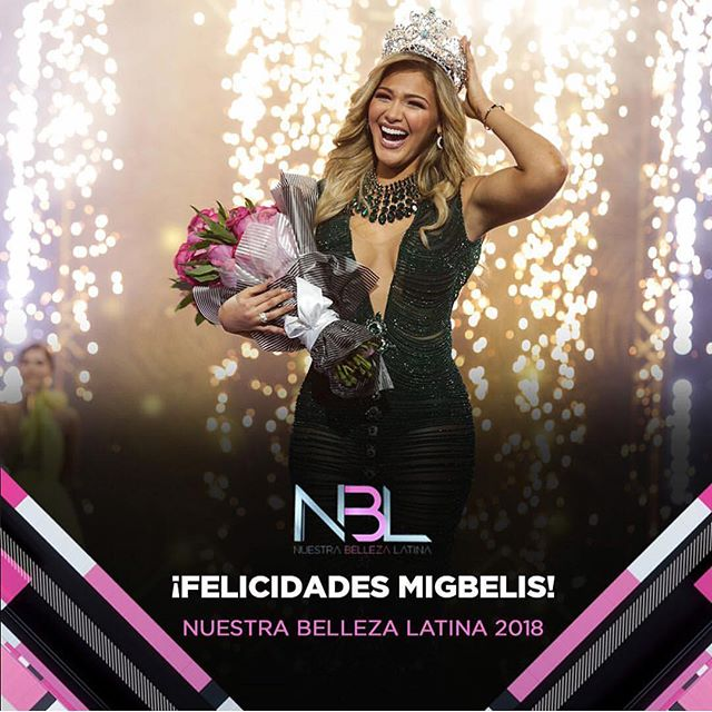 Photo of Migbelis Castellanos es la ganadora de Nuestra belleza latina