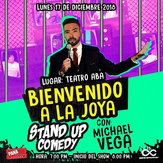 Photo of Stand Up Comedy con Michael Vega