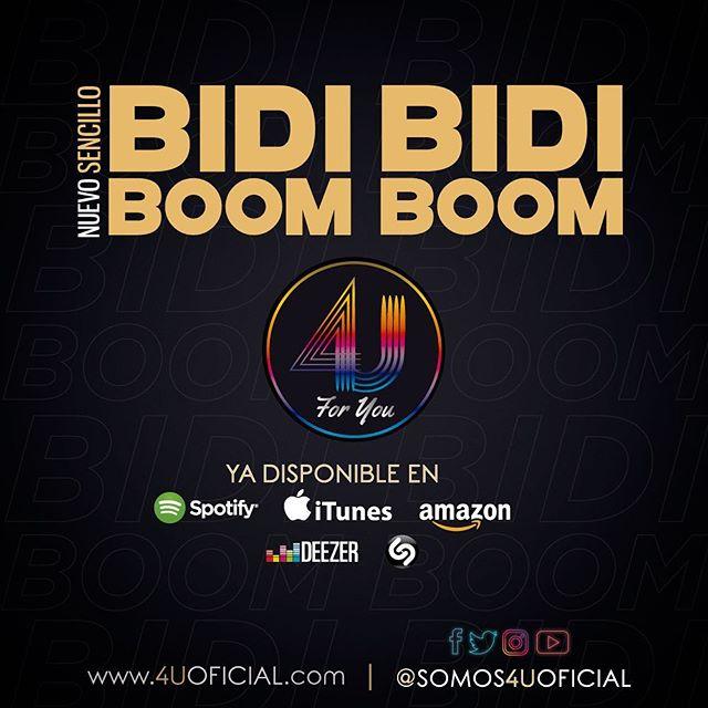 Photo of 4U presenta 'Bidi Bidi Boom Boom'