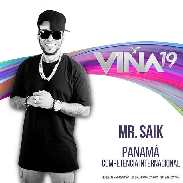 Photo of Mr. Saik representara a Panamá en el Festival de Viña del Mar