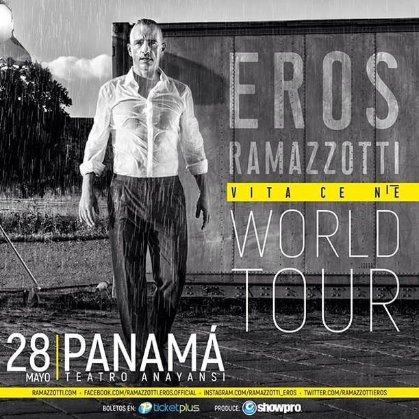 Photo of Entradas a la venta para concierto de Eros Ramazzotti en Panamá
