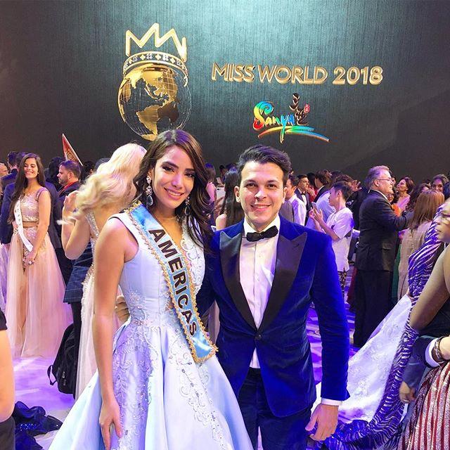 Photo of Solaris Barba la nueva Reina de América en el Miss Mundo 2018