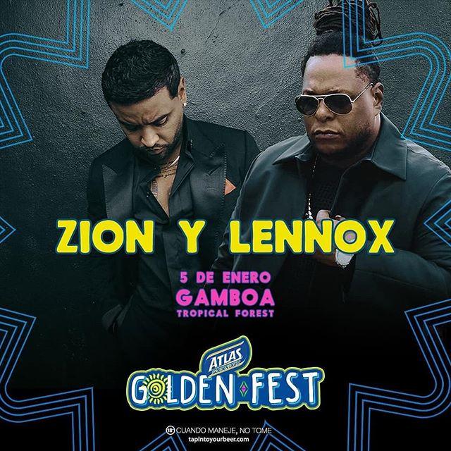 Photo of Zion & Lennox en Atlas Golden Fest 2019