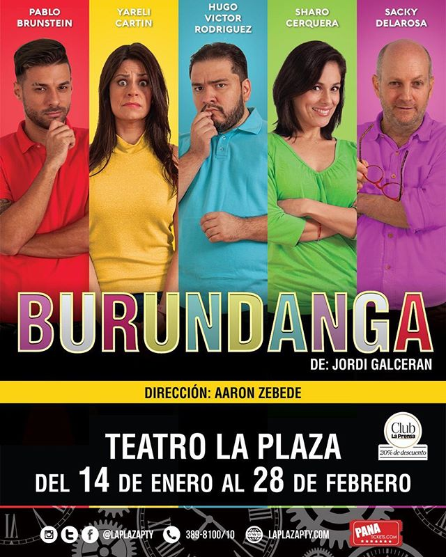Photo of 'Burundanga' en Teatro la Plaza
