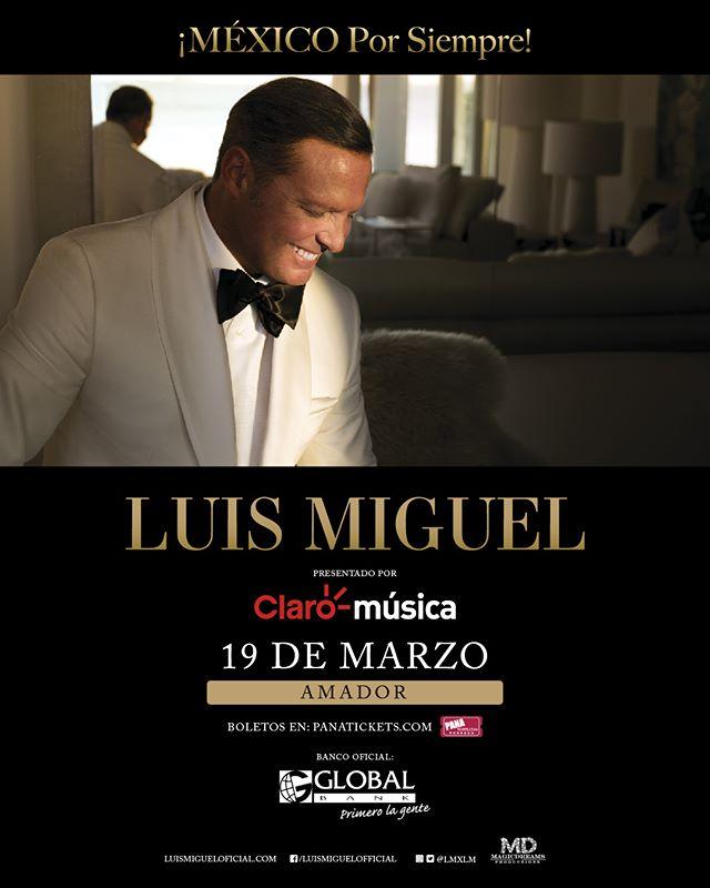 Photo of Luis Miguel estará en concierto en Panamá