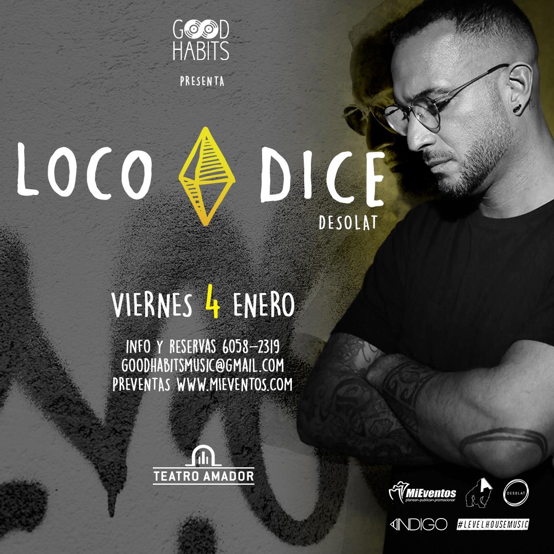 Photo of Loco Dice DJ estará en Panamá