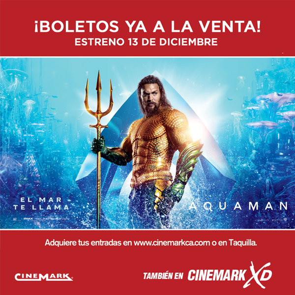 Photo of Pre-venta para 'Aquaman'