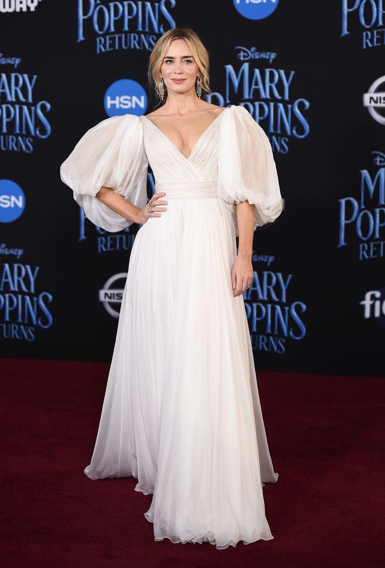 Photo of Emily Blunt deslumbro en el estreno de 'Mary Poppins'