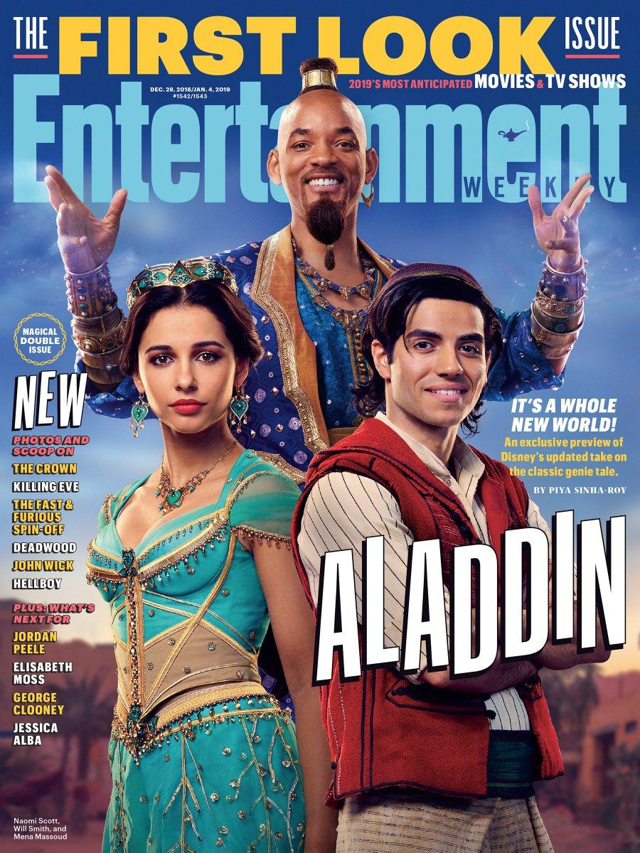 Photo of Lanzan imágenes de Aladdin la película