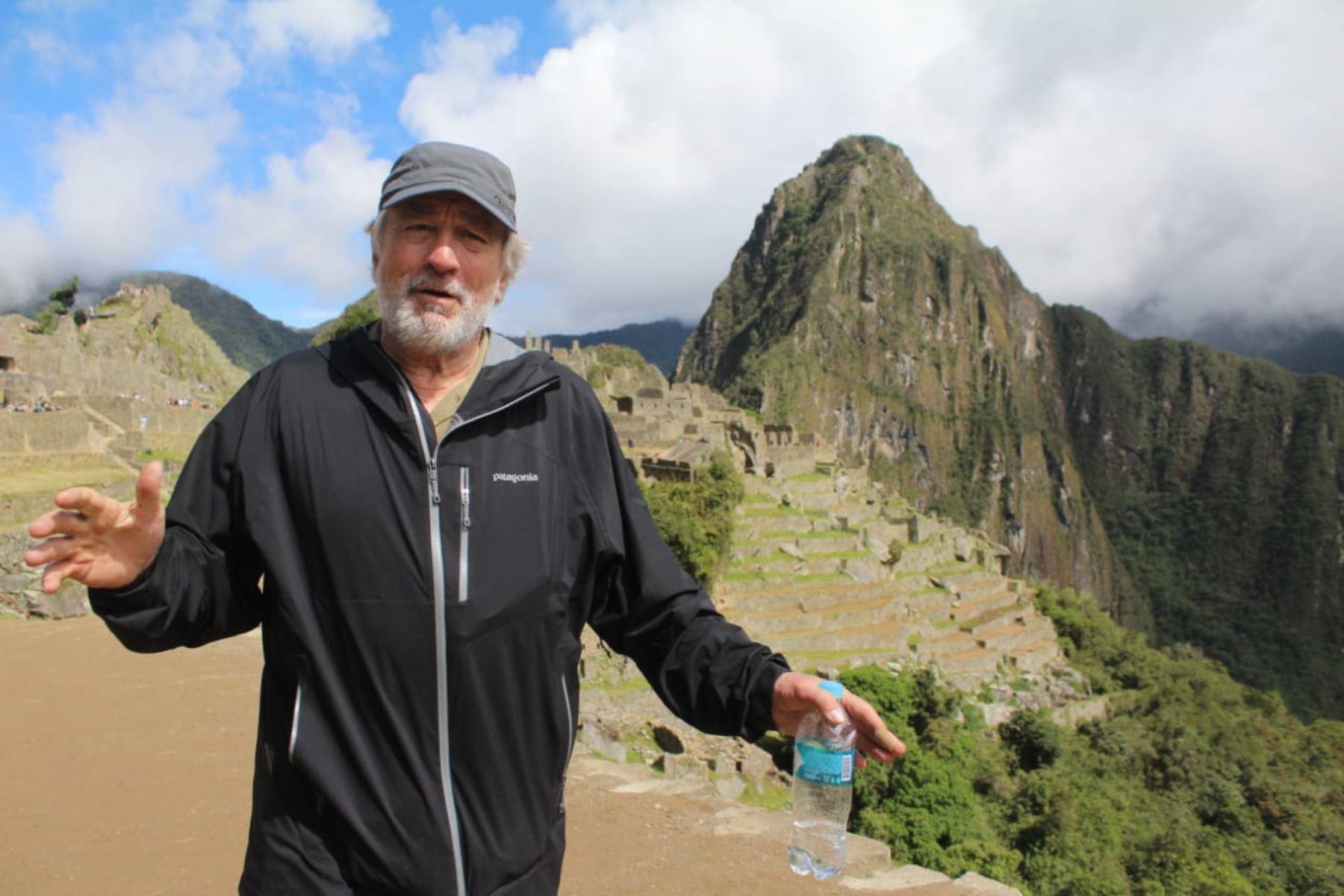 Photo of Robert de Niro en Machu Picchu