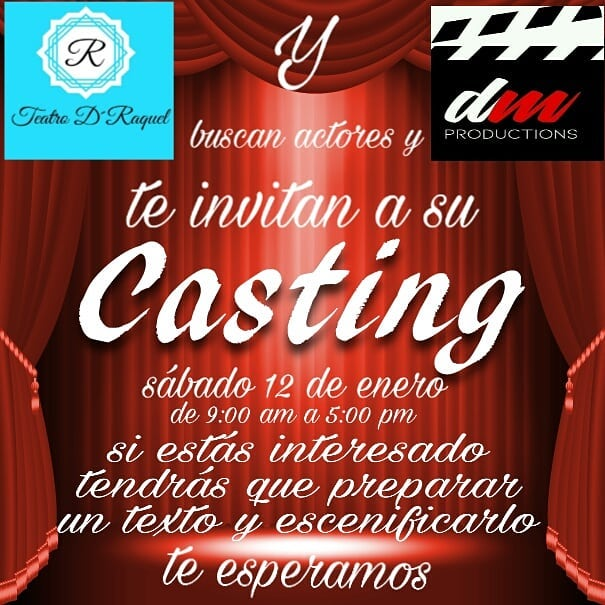 Photo of Casting 2019 en Teatro D' Raquel