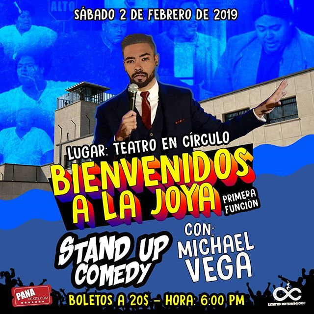 Photo of Stand Up Comedy 2019 con Michael Vega
