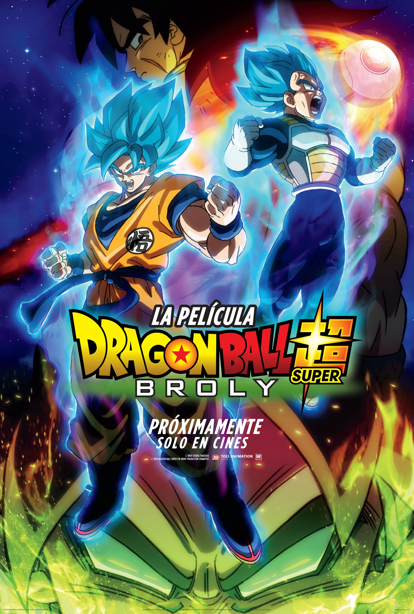 Photo of Dragon Ball Super: Broly en Cinemark
