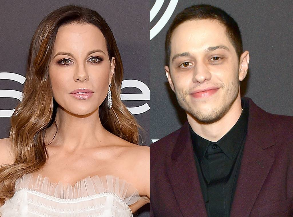 Photo of Kate Beckinsale y Pete Davidson vistos muy de cerca