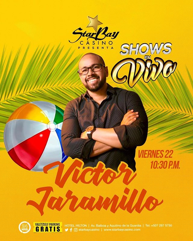 Photo of StarBay Casino presenta a Víctor Jaramillo