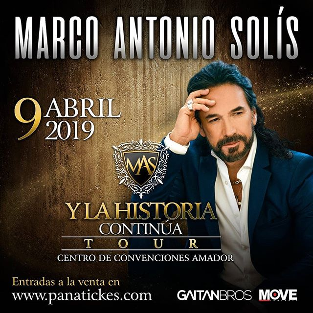 Photo of Boletos a la venta para concierto de Marco Antonio Solis en Panamá