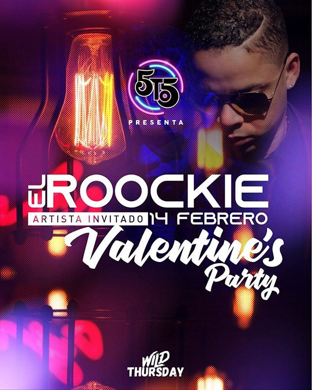 Photo of La disco 5to5 te invita al «Valentine's Party» con el Roockie
