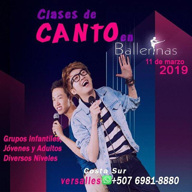 Photo of Clases de Cantos en Ballerinas