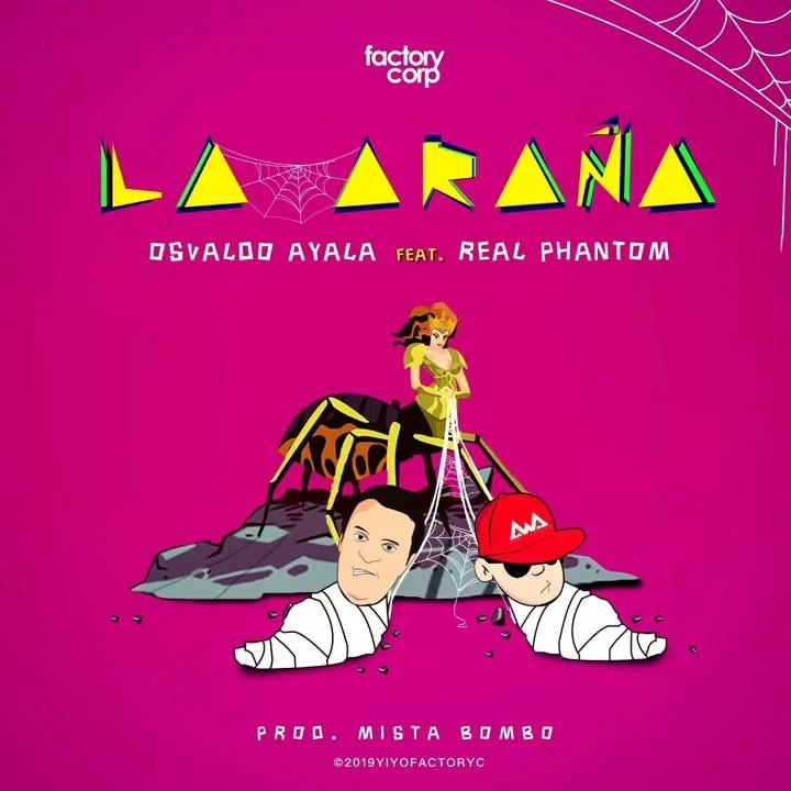 Photo of Real Phantom y Osvaldo Ayala presentan la nueva versión de «La Araña»