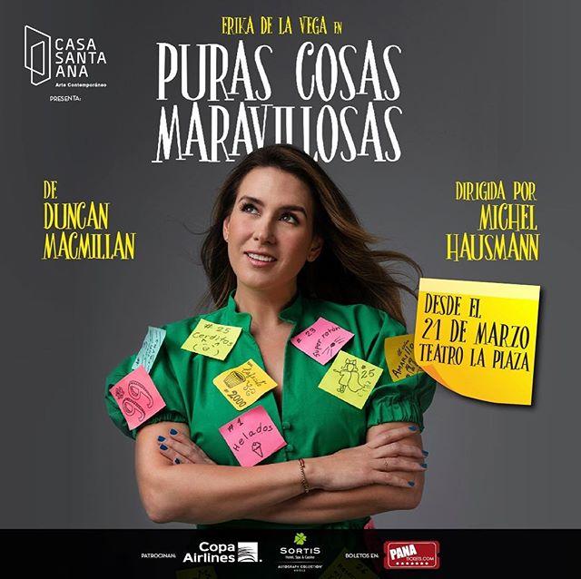 Photo of Erika de la Vega trae a Panamá 'Puras Cosas Maravillosas'