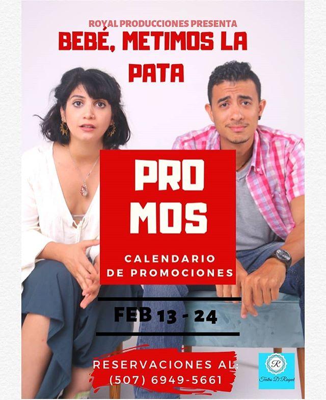 Photo of Promos Calendario en Teatro de D' Raquel'