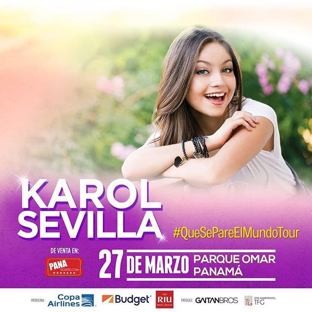Photo of Karol Sevilla llega a Panamá