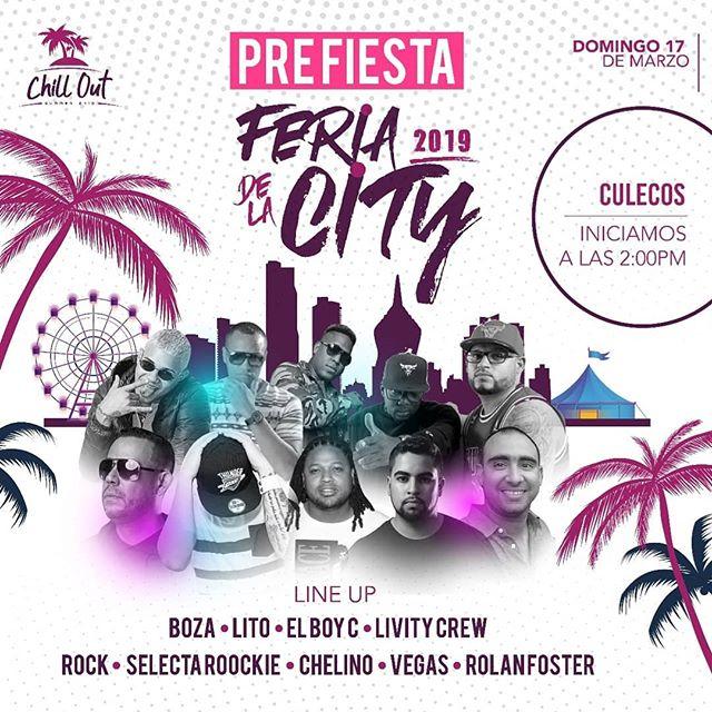 Photo of Pre fiesta oficial de La Feria de la City 2019