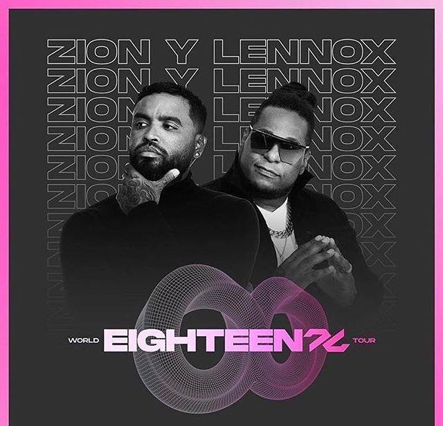 "Photo of Zion y Lennox anuncia su gira mundial ""Eighteen"""