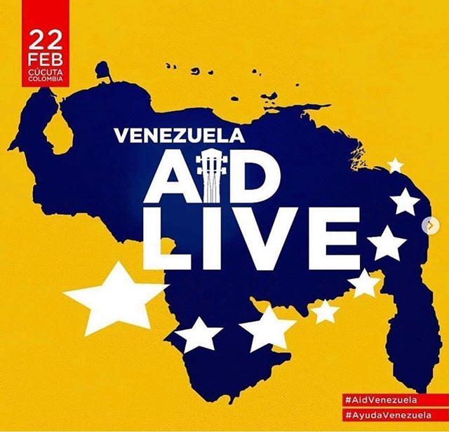 Photo of Lista de artistas que estarán en el concierto 'Venezuela Aid Live'