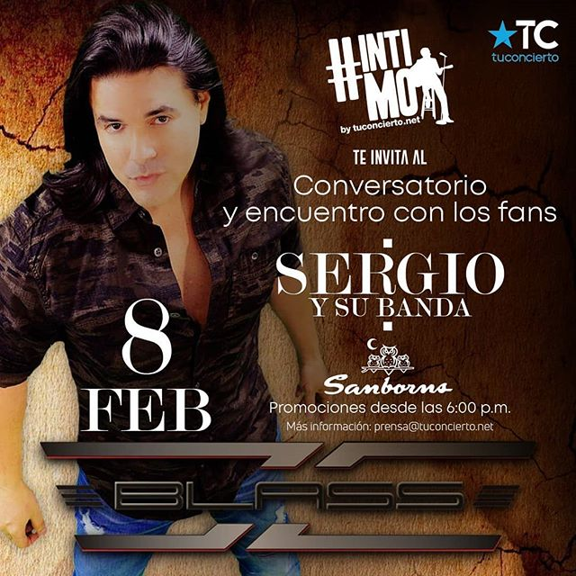 Photo of #intimotuconcierto presenta a Sergio y su banda