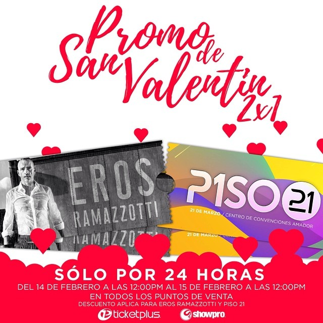 Photo of Ticketplus lanza promo por 'Día de San Valentin'