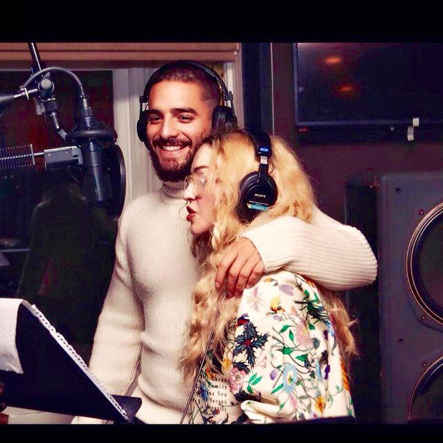 Photo of Madonna y Maluma preparan una colaboración juntos