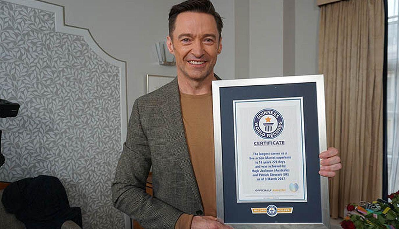 Photo of Hugh Jackman obtiene récord Guinness por interpretar a Wolverine por 16 años