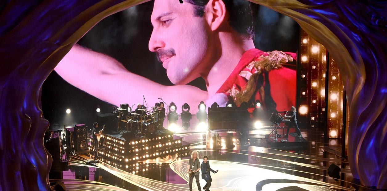 Photo of Queen y el vocalista Adam Lambert dieron gran concierto en los Oscars