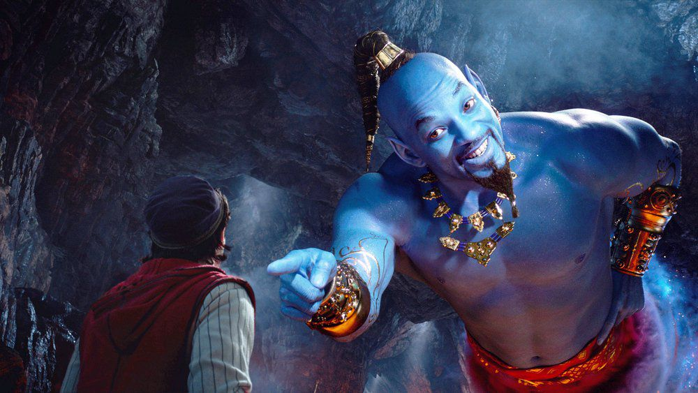 Photo of Will Smith de color azul en el nuevo trailer de Aladdin