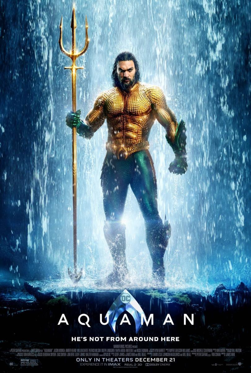 Photo of Aquaman una de las 20 películas más taquilleras de la historia