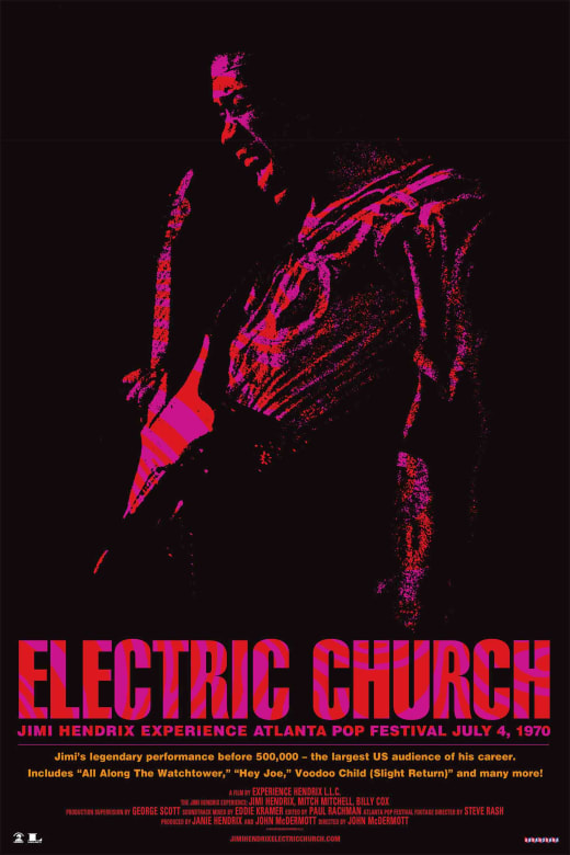 Photo of Función especial de 'Jimi Hendrix: Electric Church'