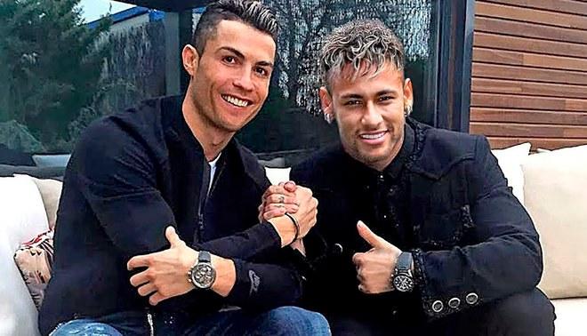 Photo of HBD para CR7 y Neymar
