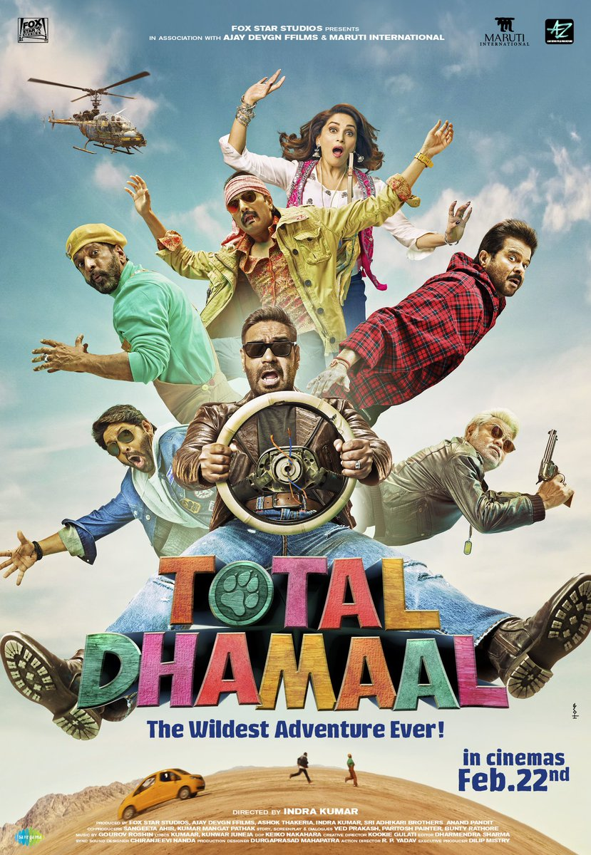 Photo of «Total Dhamaal» en función especial en Cinemark