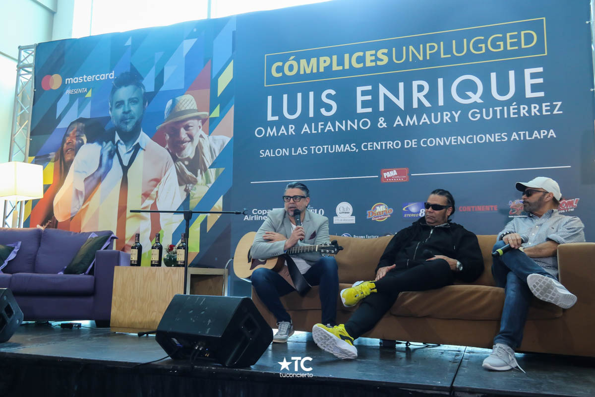 Photo of Conferencia de Prensa de 'Complices Unplugged'