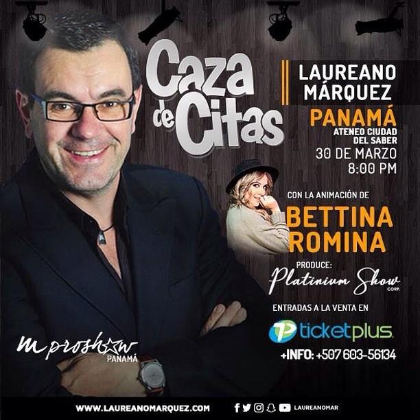 Photo of Esta noche Laureano Márquez en Panamá con Caza de Citas